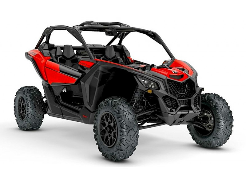 Cote a cote Can Am Maverick x3 900HO