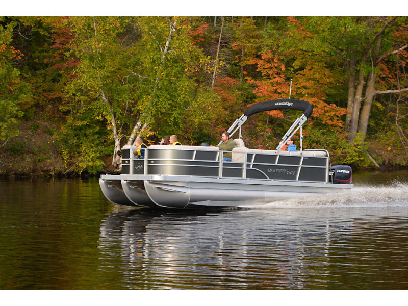 Pontoon 12 places with 140hp engine